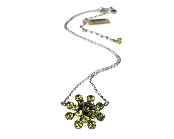 Konplott Magic Fireball Halskette mit Anhänger in khaki 5450527640282