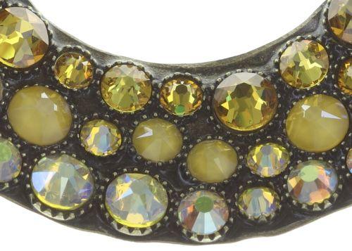 Konplott Inside Out Halskette mit Anhänger XL in gelb 5450543727189