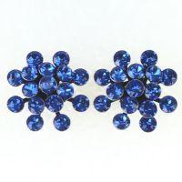 Vorschau: Konplott Magic Fireball Ohrstecker klassisch in sapphire, blau 5450527611749