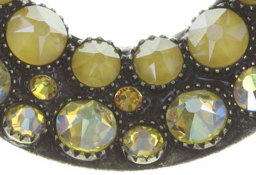 Konplott Inside Out Halskette mit Anhänger M in gelb 5450543727196