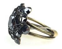 Vorschau: Konplott Bended Lights Ring in Schwarz 5450527760041