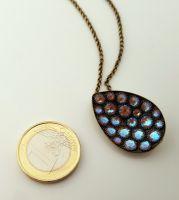 Vorschau: Konplott Tears of Joy Halskette mit Anhänger in braun crystal cappucci Größe L 5450543767499