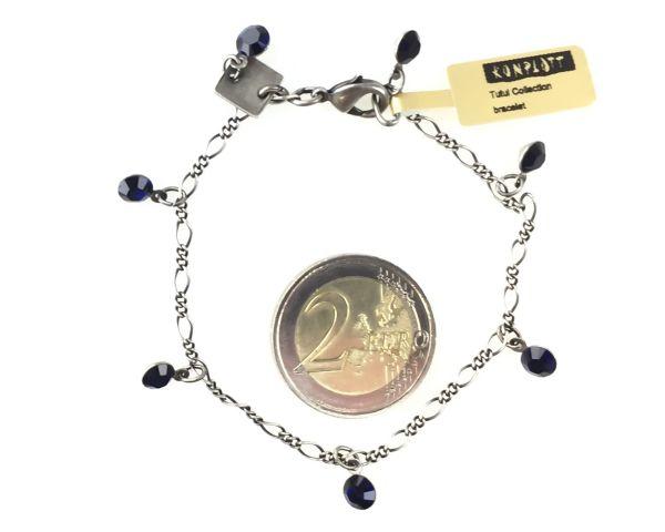 Konplott Tutui dark indigo Armband verschließbar 5450527612500