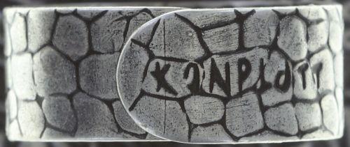 Konplott Studio 54 Ring in hellblau Silberfarben 5450543748412