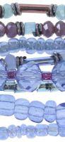 Vorschau: Konplott Petit Glamour d'Afrique Armband in lila/blau 5450543722351
