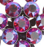Vorschau: Konplott Magic Fireball Ohrstecker klassisch in clubbing rot siam shimmer 5450543852744