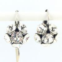 Vorschau: Konplott Disco Balls crystal Ohrhänger mit Klappverschluss 5450527597319