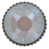 Vorschau: Konplott Black Jack Ohrstecker groß in weiß crystal grau 5450543768847