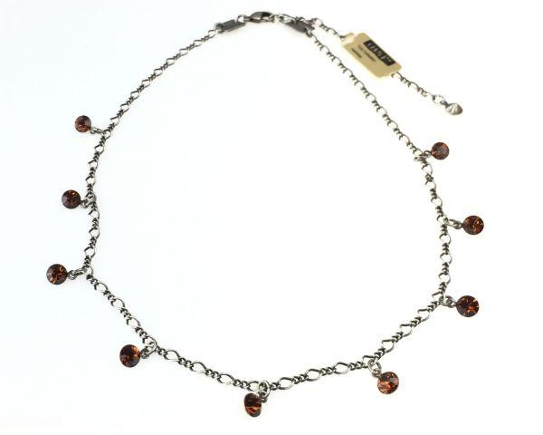 Konplott Tutui smoked topaz Halskette steinbesetzt, braun 5450527641098