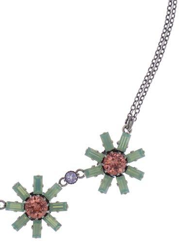 Konplott Spider Daisy Halskette in pastel multi 5450543737973