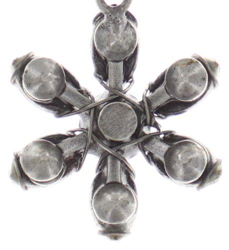 Konplott Psychodahlia Halskette mit Anhänger in multi Silberfarben 5450543733920