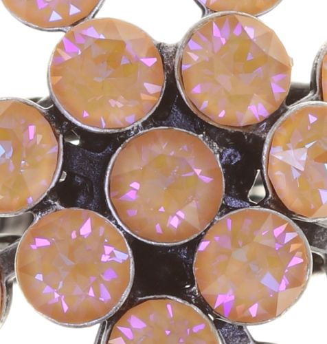 Konplott Magic Fireball Ring in apricot de glace crystal peach de lite 5450543797311