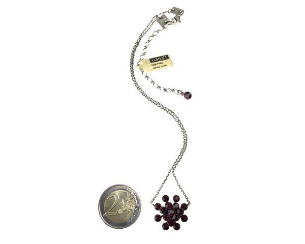 Konplott Magic Fireball Halskette mit Anhänger in siam 5450527640442