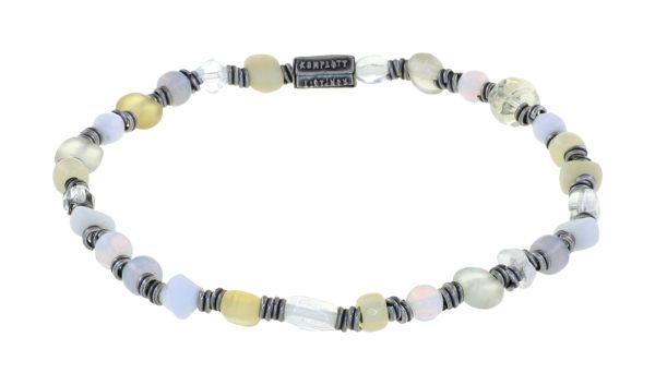 Konplott Petit Glamour d'Afrique Armband in weiß 5450543914077