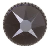 Vorschau: Konplott Black Jack Ohrstecker groß in schwarz jet hematite 5450543787626