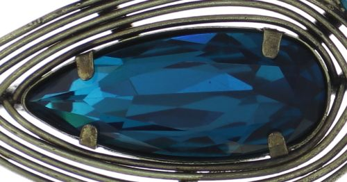 Konplott Amazonia Choker in blau/grün 5450543753263