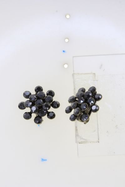 Konplott Magic Fireball Ohrstecker in black jet hematite mini 5450543914824