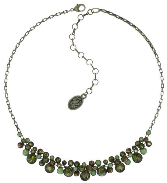 Konplott Water Cascade steinbesetzte Halskette in grün 5450543754215