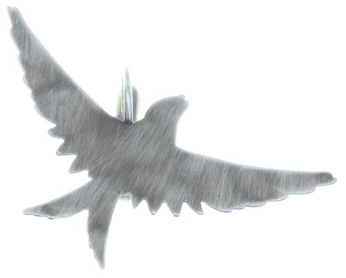 Konplott The Sparrow Ohrhänger Größe S in silber 5450543749730