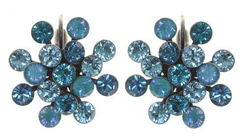 Konplott Magic Fireball Ohrhänger in blau/grün Classic Size 5450543904474