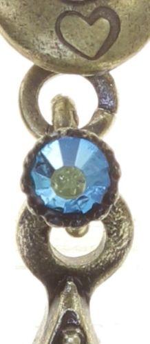 Konplott Dancing Star Ohrhänger in blau Größe XS 5450543774008