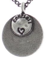 Vorschau: Konplott Spell on You Halskette mit Anhänger in hellblau Silberfarben 5450543735184