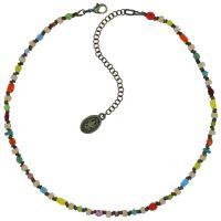Vorschau: Konplott Petit Glamour d'Afrique Halskette in pastel multi 5450543913933
