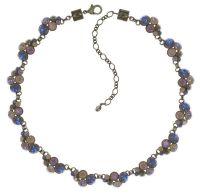 Konplott Petit Glamour Halskette Beach Sea Sun in blau/braun 5450543813967