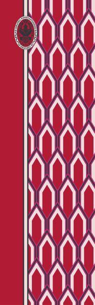 Konplott Schal Geometrisch 10 in rot 5450543806952