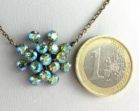 Vorschau: Konplott Magic Fireball gelb/grüne Halskette mit Anhänger 5450543637044