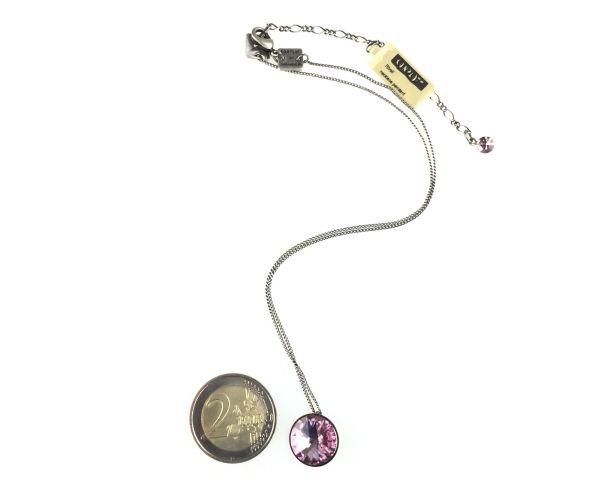 Konplott Rivoli light amethyst Halskette mit Anhänger rosa/lila 5450527613033