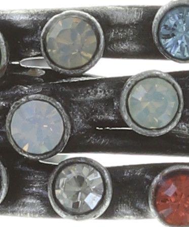 Konplott Cages Ring pastel multi Silberfarben 5450543749525