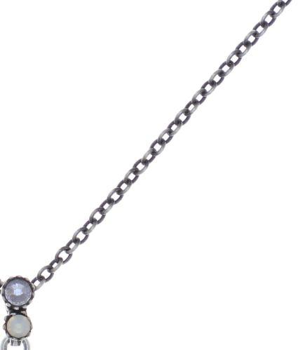 Konplott Water Cascade Halskette mit Anhänger in weiß 5450543753782