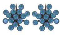 Vorschau: Konplott Magic Fireball Ohrhänger in water turquoise crystal laguna de lite 5450543852638