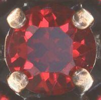 Vorschau: Konplott Tears of Joy Ring in coralline scarlet rot Größe S 5450543765518