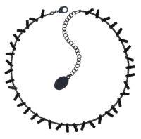 Vorschau: Konplott Jumping Baguette Halskette Deepest Black 5450543861210
