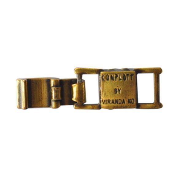 Konplott Armband Verlängerung groß in Messing 5450527800457