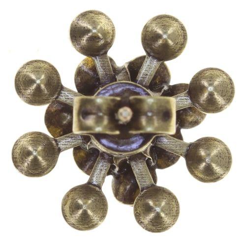 Konplott Magic Fireball Ohrstecker Mini in golden yellow 5450543797700