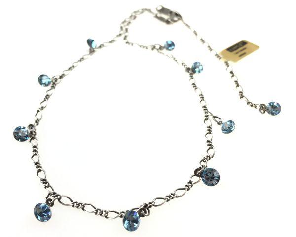 Konplott Tutui aquamarine Halskette steinbesetzt 5450527641197