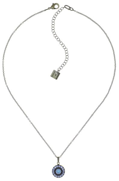 Konplott Simply Beautiful Halskette mit Anhänger in blau 5450543779751
