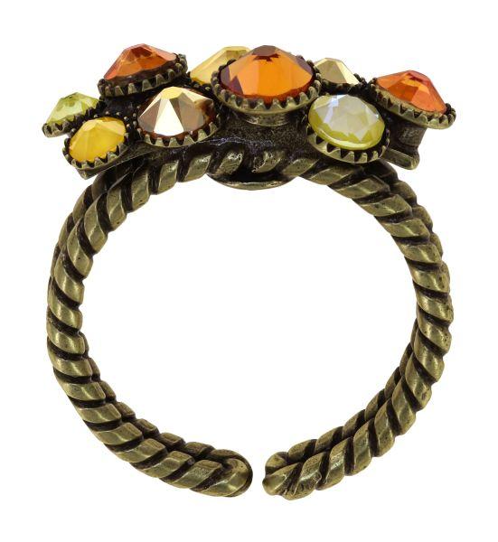 Konplott Water Cascade Ring in Buttercup On Fire gelb 5450543908427