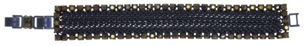 Konplott Rock 'n' Glam Armband in black gun metal 5450543777832