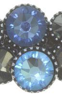 Vorschau: Konplott Water Cascade Ring in blau/braun 5450543753935