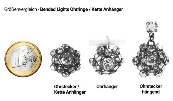 Konplott Bended Lights Ring in Schwarz 5450527760041