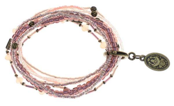 Konplott Petit Glamour d'Afrique Armband in pink antique 5450543780009