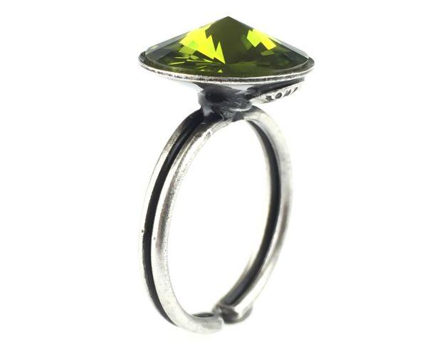 Rivoli olivine Ring