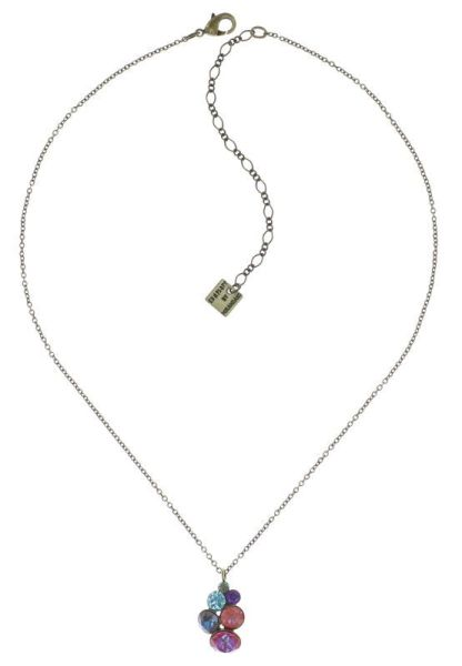 Konplott Petit Glamour Halskette Unicorn pastel multi 5450543880570