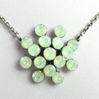 Vorschau: Konplott Magic Fireball chrysolite grün opal Halskette mit Anhänger 5450543461366