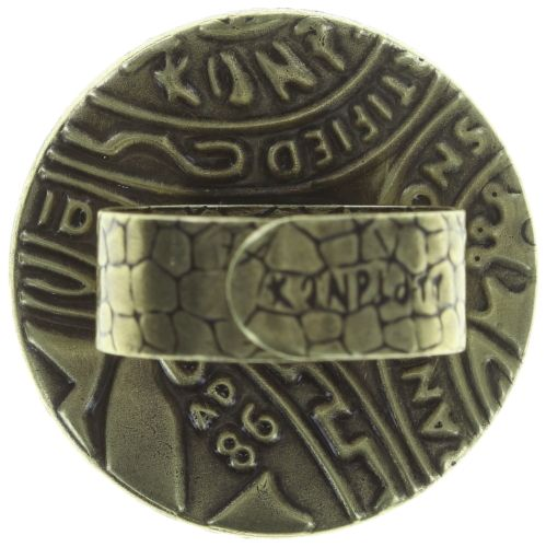 Konplott Studio 54 Ring in goldgelb Messing 5450543749099