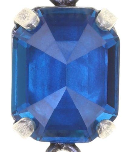 Konplott Mix the Rocks Ohrstecker in crystal blau 5450543790114